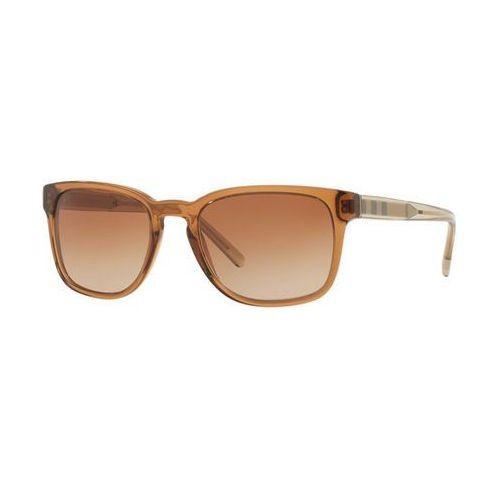 Burberry Okulary słoneczne be4222f asian fit 356413