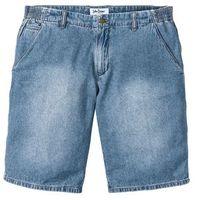 Bermudy dżinsowe Loose Fit z elastycznymi wstawkami po bokach w talii bonprix jasnoniebieski