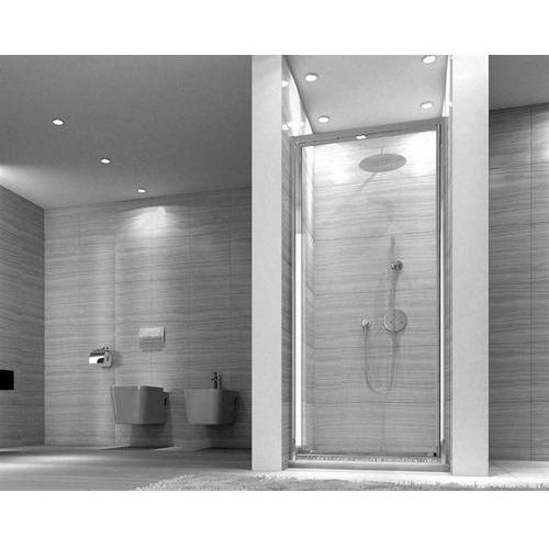 Drzwi prysznicowe uchylne 90 cm saxon marki Rea