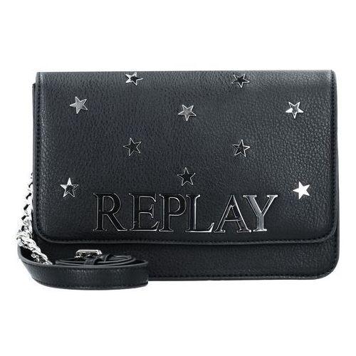 torba na ramię czarny marki Replay