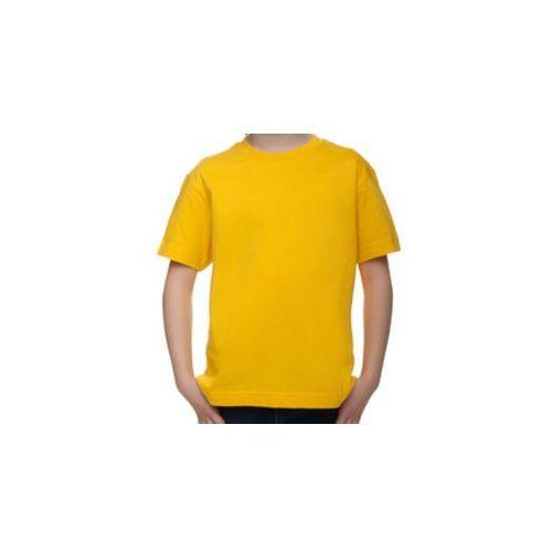 Koszulka dziecięca (bez nadruku, gładka) - żółta, 8733