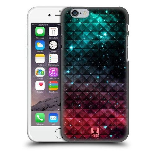 Head case Etui plastikowe na telefon - studded ombre printed sparkling red and blue