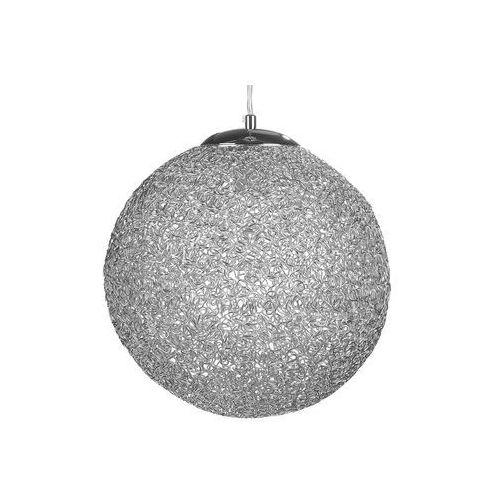 Lampa wisząca srebrna TURAMA, kolor Srebrny