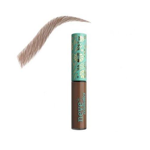 Naturalny tusz do stylizacji brwi brow model roma brown 3ml - kasztanowy brąz marki Neve cosmetics