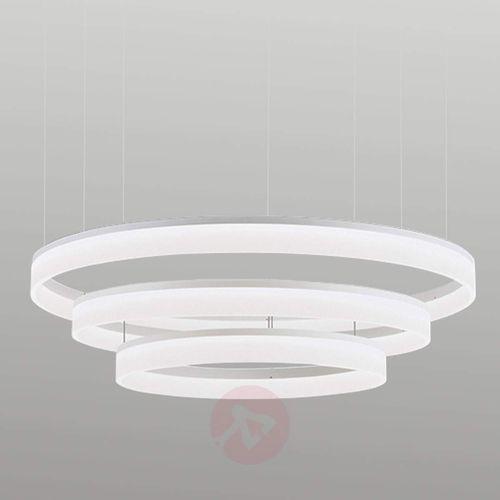 Leds-c4 circ lampa wisząca biały, 3-punktowe - nowoczesny - obszar wewnętrzny - circ - czas dostawy: od 2-3 tygodni