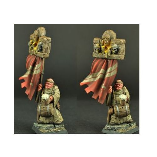 Scibor 28fm0124 - town guard monk 28mm marki Scibor miniatures