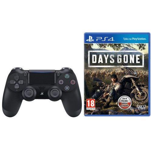 Sony DualShock 4 v2 (czarny) + Days Gone, KAK4DUALS4DAGO