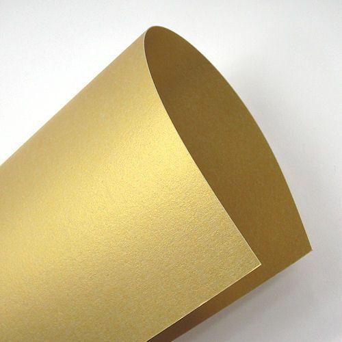 Majestic A4 250g Luxus Real Gold/złoto x100