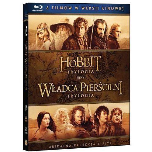 Śródziemie - Kompletna kolekcja 6 filmów (Blu-Ray) - Peter Jackson DARMOWA DOSTAWA KIOSK RUCHU