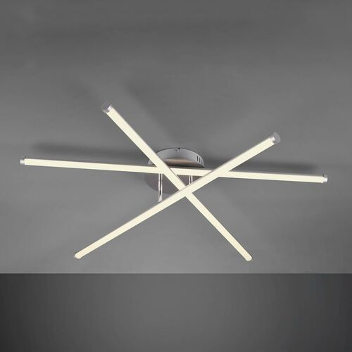 Trio RL Smaragd R65010307 plafon lampa sufitowa 3x8W LED 3000-6000K nikiel mat / biały (4017807427059)