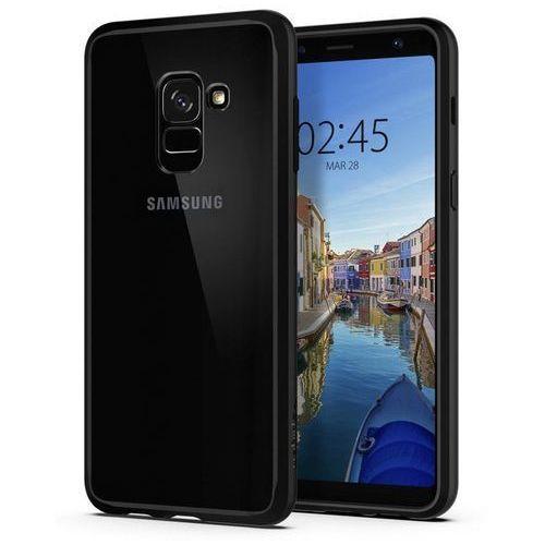 Spigen SGP Ultra Hybrid Matte Black | Obudowa ochronna dedykowana dla modelu Samsung Galaxy A8 2018