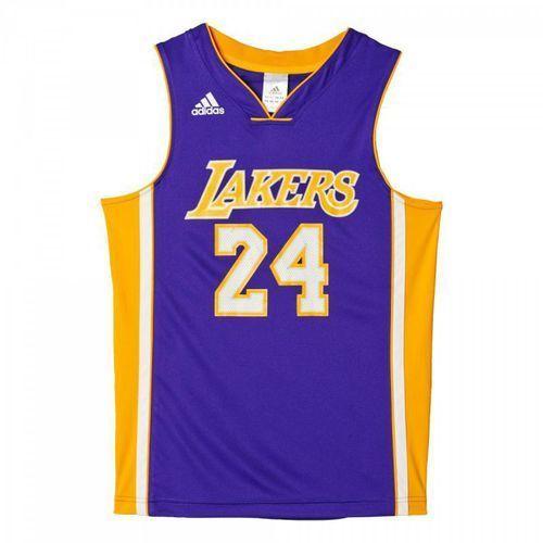 Komplet koszykarski adidas Los Angeles Lakers Kobe Bryant M Replica Junior AC0558 - produkt z kategorii- Pozostałe