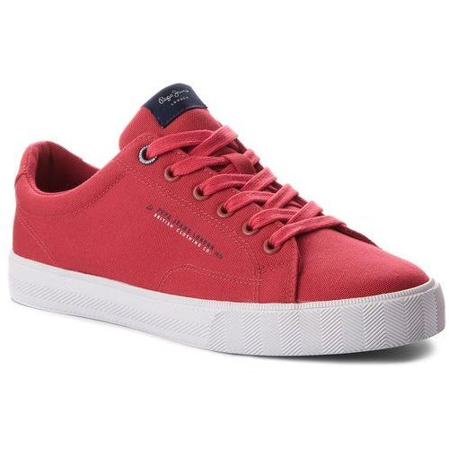 Pepe jeans Tenisówki - new north basic pms30420 factory red 220