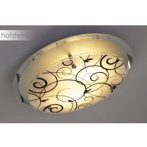 Floral lampa sufitowa chrom, biały, 2-punktowe - - nowoczesny/design - obszar wewnętrzny - floral - marki Hofstein