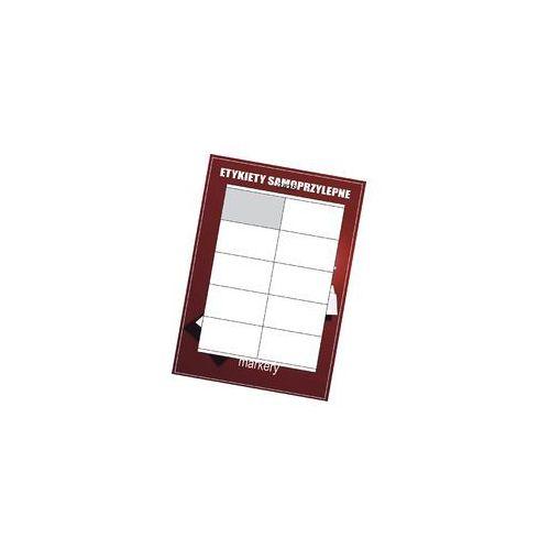 Etykiety samoprzylepne białe 105x57/10szt (100), 3425