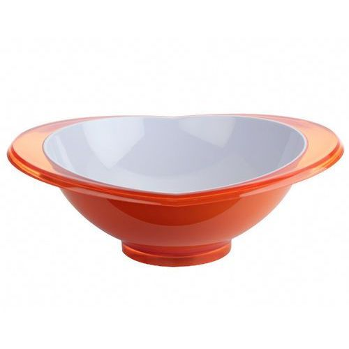 Casa bugatti - glamour - salaterka pomarańczowa - pomarańczowy