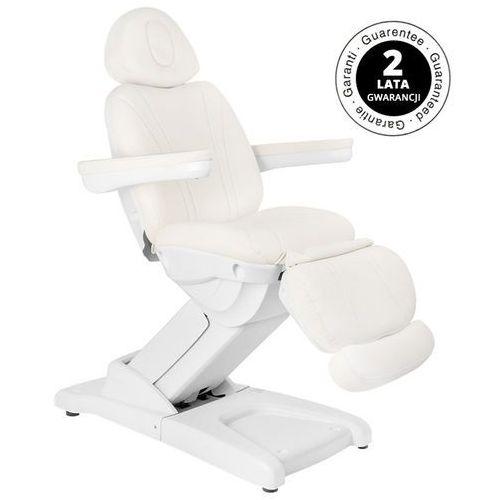 Fotel kosmetyczny elektr. azzurro 872 4 siln. biały marki Activ