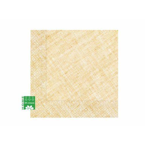 Procos non-disney Eko serwetki papierowe żółty len - 33 cm - 20 szt.