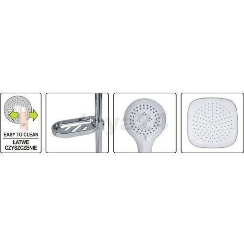 Zestaw prysznicowy z deszczownica gocta 75660 - zyskaj rabat 30 zł marki Fala