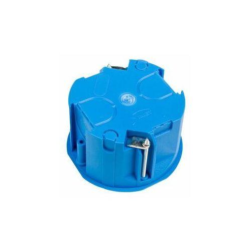 Puszka podtynkowa 60mm regips płytka niebieska PV 60K samogasnąca bezhalogenowa 32017203 /60szt./ (5907813203565)
