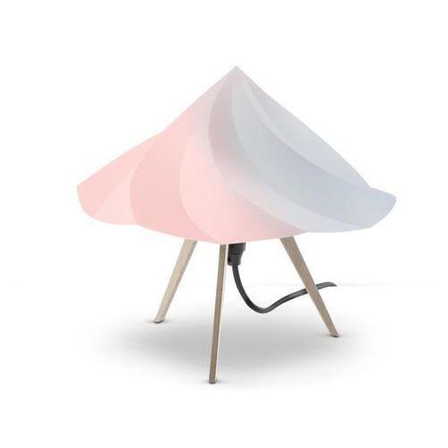 CHANTILLY-Lampa stojąca Trójnóg Drewno Wys.28cm (3663710058357)