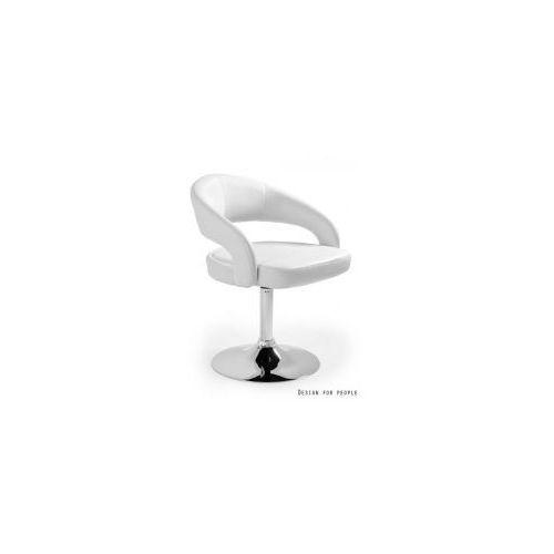 Krzesło hoker Stilo biały UNIQUE, kolor biały
