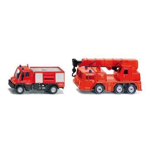 Siku  zestaw 2 wozów strażackich