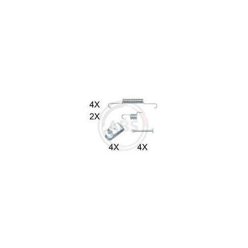 A.B.S. Zestaw akcesoriów, szczęki hamulcowe hamulca postojowego - 0895Q