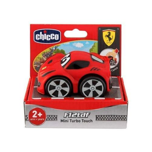 Chicco Samochód mini turbo touch ferrari czerwony f12 (8058664093687)