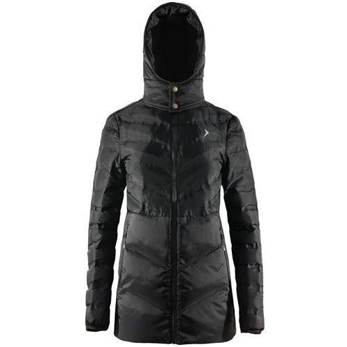 Damski płaszcz puchowy pikowany kud608 marki Outhorn