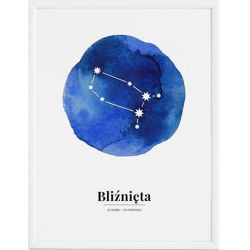 Follygraph Plakat zodiak bliźnięta 70 x 100 cm