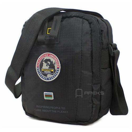 64e576ba58ca4 National geographic explorer mała torba / saszetka na ramię / n01103.06 -  czarny (4006268611169)