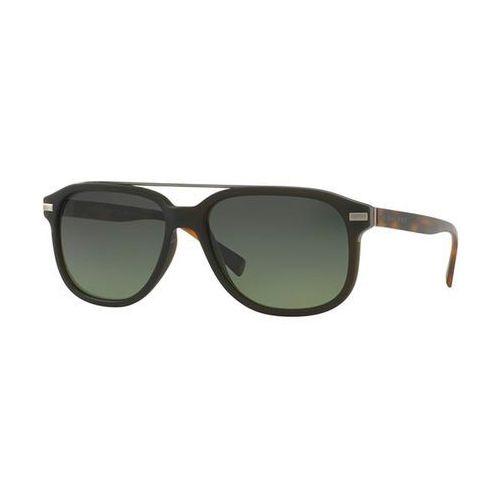 Okulary słoneczne be4233 mr. burberry polarized 3620t4 marki Burberry