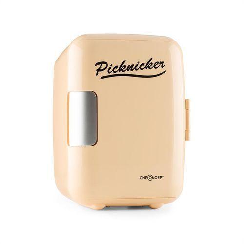 picknicker mini lodówka termiczna chłodzenie 4 litry ac dc auto wyprodukowany przez Oneconcept