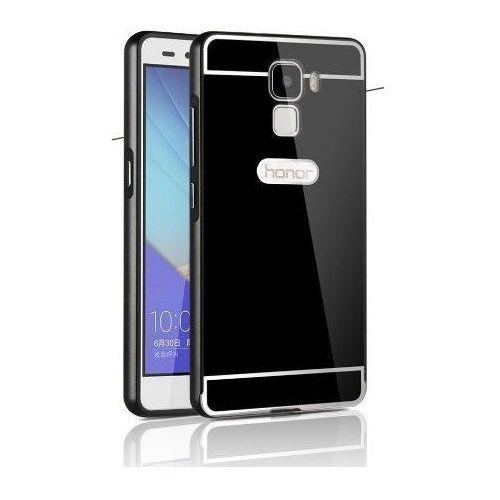 Mat Bumper Metal Czarny | Obudowa z bumperem dla modelu Huawei Honor 7