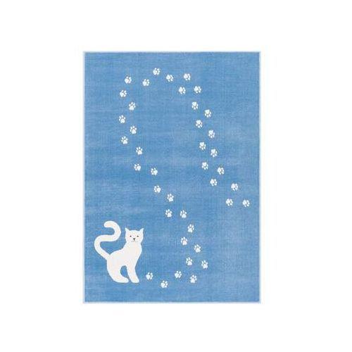 Agnella Dywan kotek lazurowy 133 x 190 cm wys. runa 7 mm