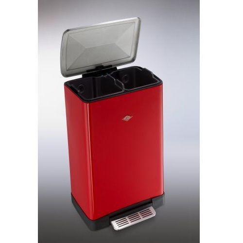 Wesco Big Double Master kosz na śmieci, czerwony 40 l, 38151102