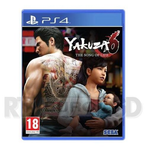 OKAZJA - Yakuza 6 The Song of Life (PS4)