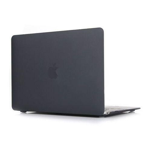 4kom.pl Macbook air 13'' etui pokrowiec hard case czarne - czarny