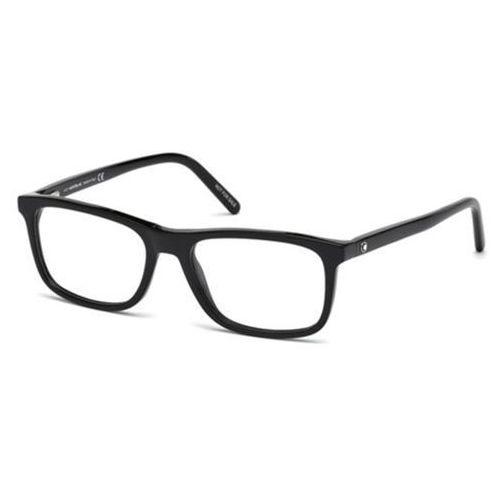 Okulary korekcyjne mb0672 001 marki Mont blanc