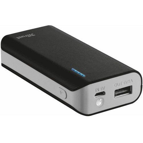 Trust UrbanRevolt Primo PowerBank 4400 Portable Charger - black (8713439212242)