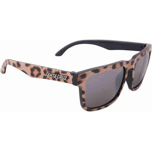 okulary słoneczne SANTA CRUZ - Leopardskin Arm Shades Leopard (LEOPARD) rozmiar: OS, kolor żółty