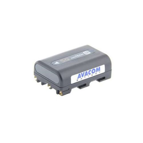 Bateria do notebooków  pro sony np-fm50, qm50 li-ion 7,2v 1100mah (viso-qm50-750g) szara marki Avacom