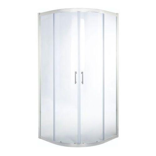Kabina prysznicowa półokrągła onega 80 cm chrom/transparentna marki Cooke&lewis