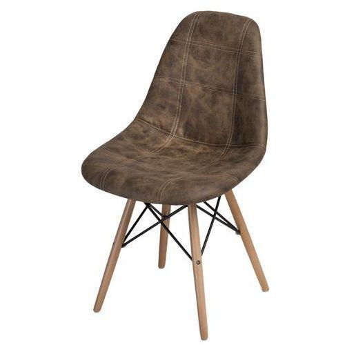 Krzesło P016W Pico brązowe ciemne (5902385722889)