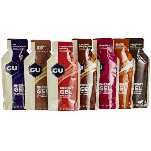 Gu energy energy gel żywność energetyczna 7 x 32g kolorowy batony i żele energetyczne (3076949521019)