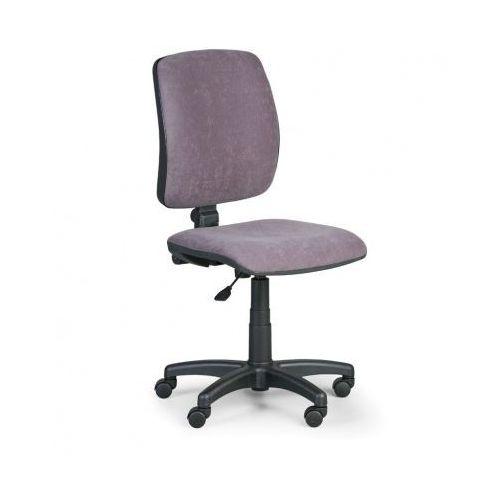 Krzesło biurowe torino ii bez podłokietników - szare marki Euroseat