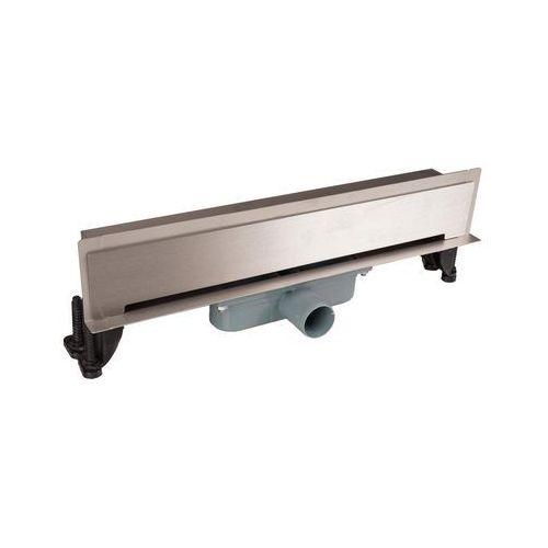 Jano Odpływ kabiny natryskowej w ścianę l400 ruszt głądki (5908289683912)