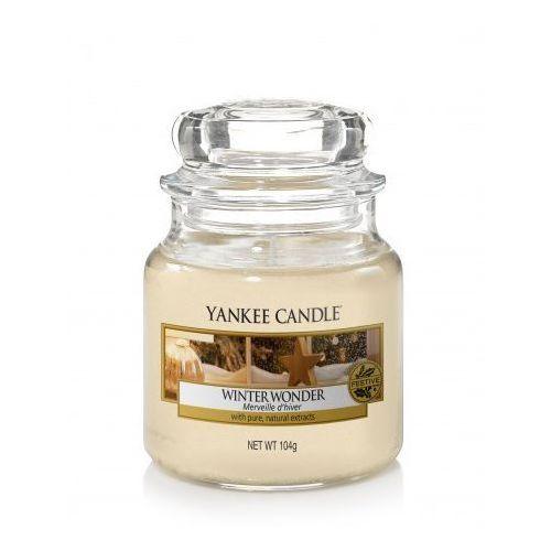 Yankee Candle świeca zapachowa mała Classic 104 g Winter Wonder, 5038581051185