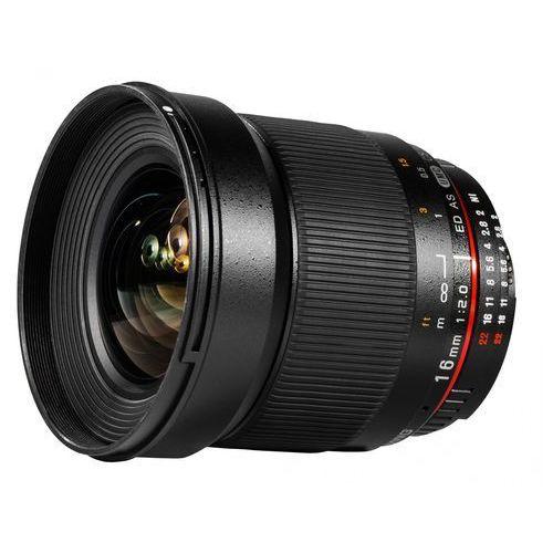 Samyang Karta kurier gratis 16 mm f2.0 obiektyw mocowanie micro 4/3